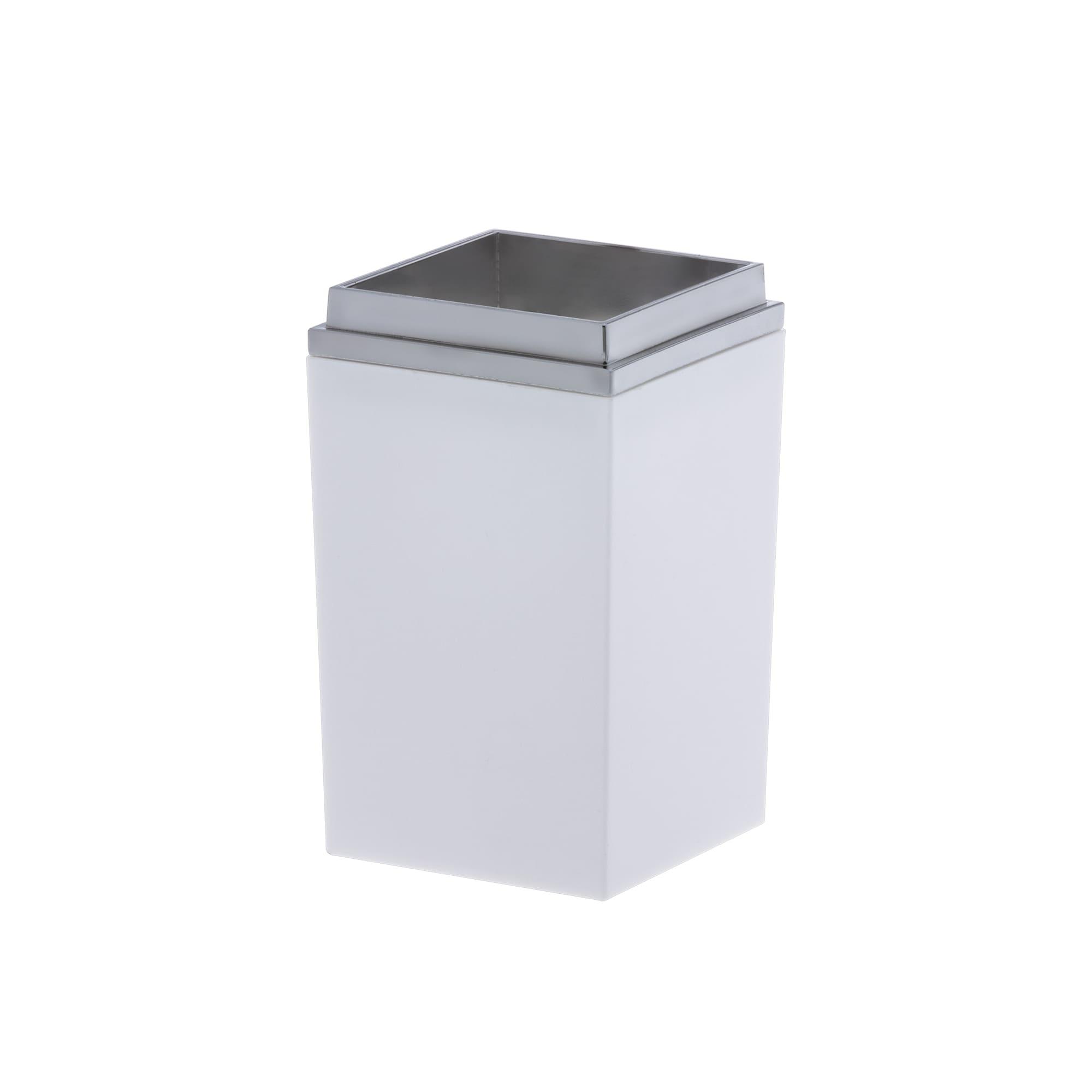Porta Escova Branco Quadratta