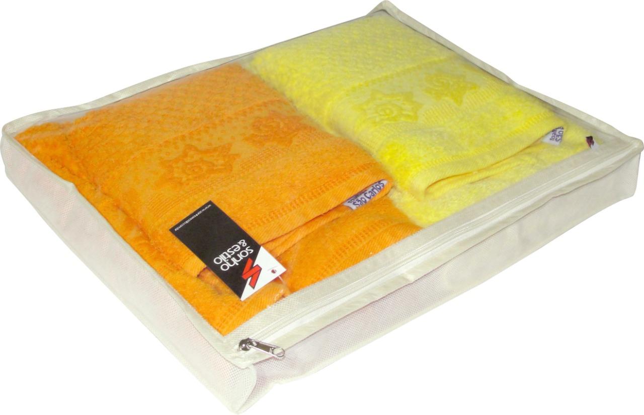 Protetor para Lençol e Toalha - Tamanho 2 - Branco