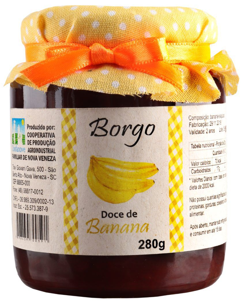 Doce de Banana 280g