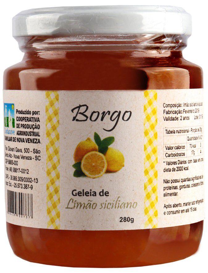 Geleia de Limão Siciliano 280g
