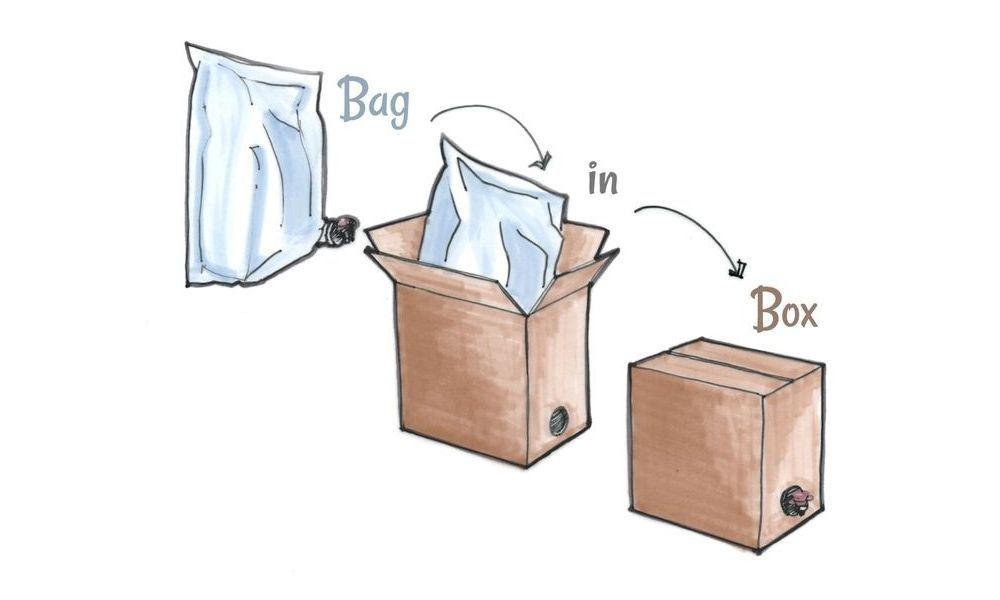 Vinho Branco Seco Niagara 5L Bag-in-Box