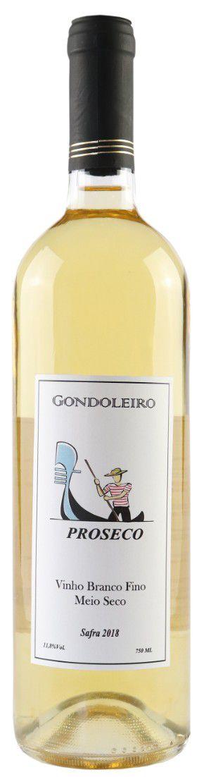 Vinho Gondoleiro Prosecco Meio-Seco 750ml