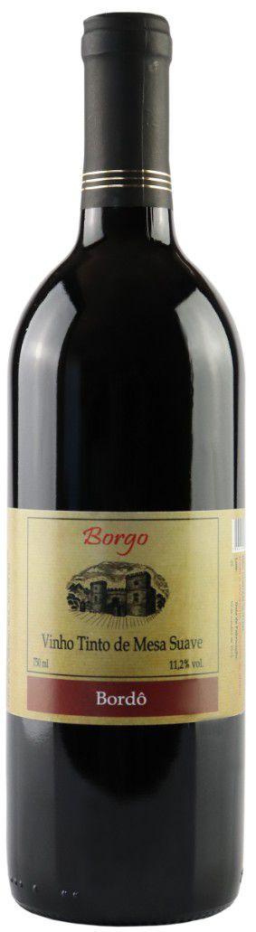 Vinho Tinto Suave Bordô 750ml
