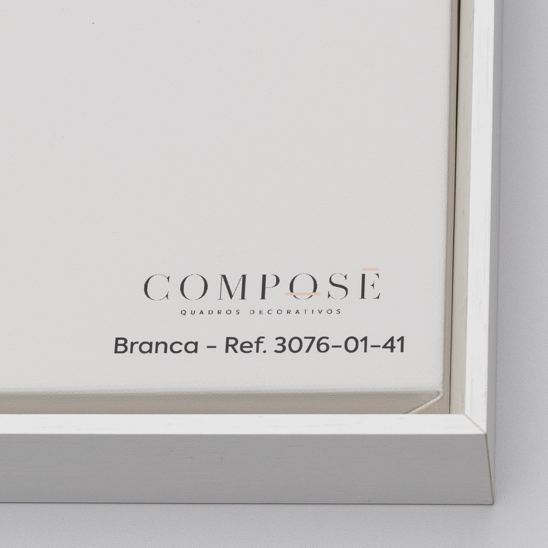 Conjunto com 2 Quadros Decorativos com Arte Abstrata em Preto e Dourado