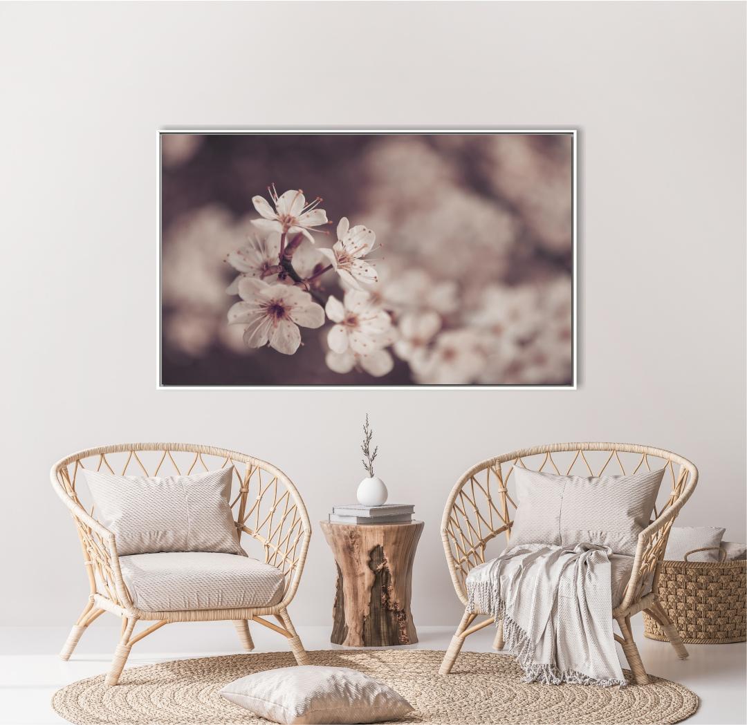 Quadro Decorativo com Flor de Cerejeira