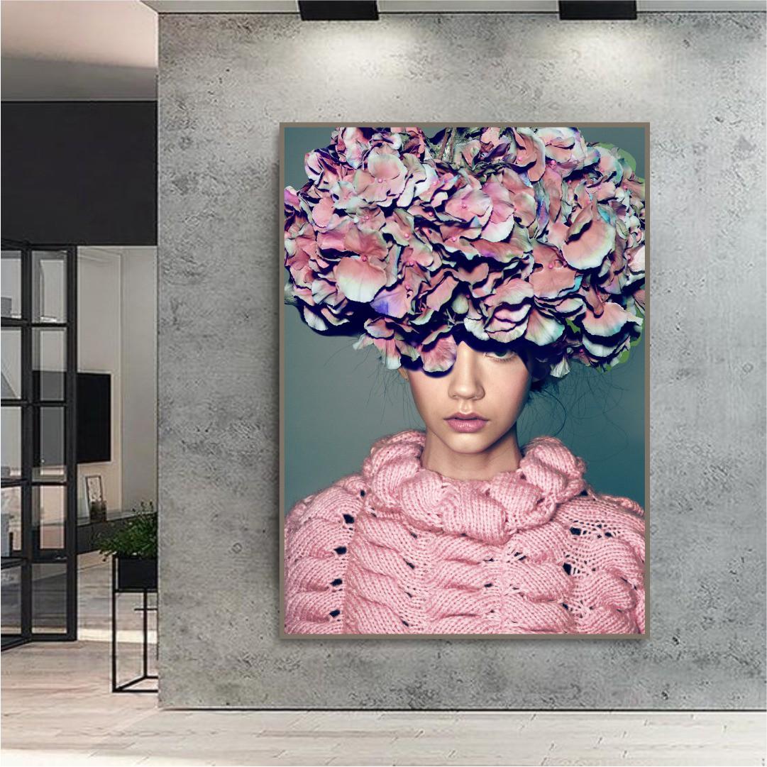 Quadro Decorativo Desfile Vogue
