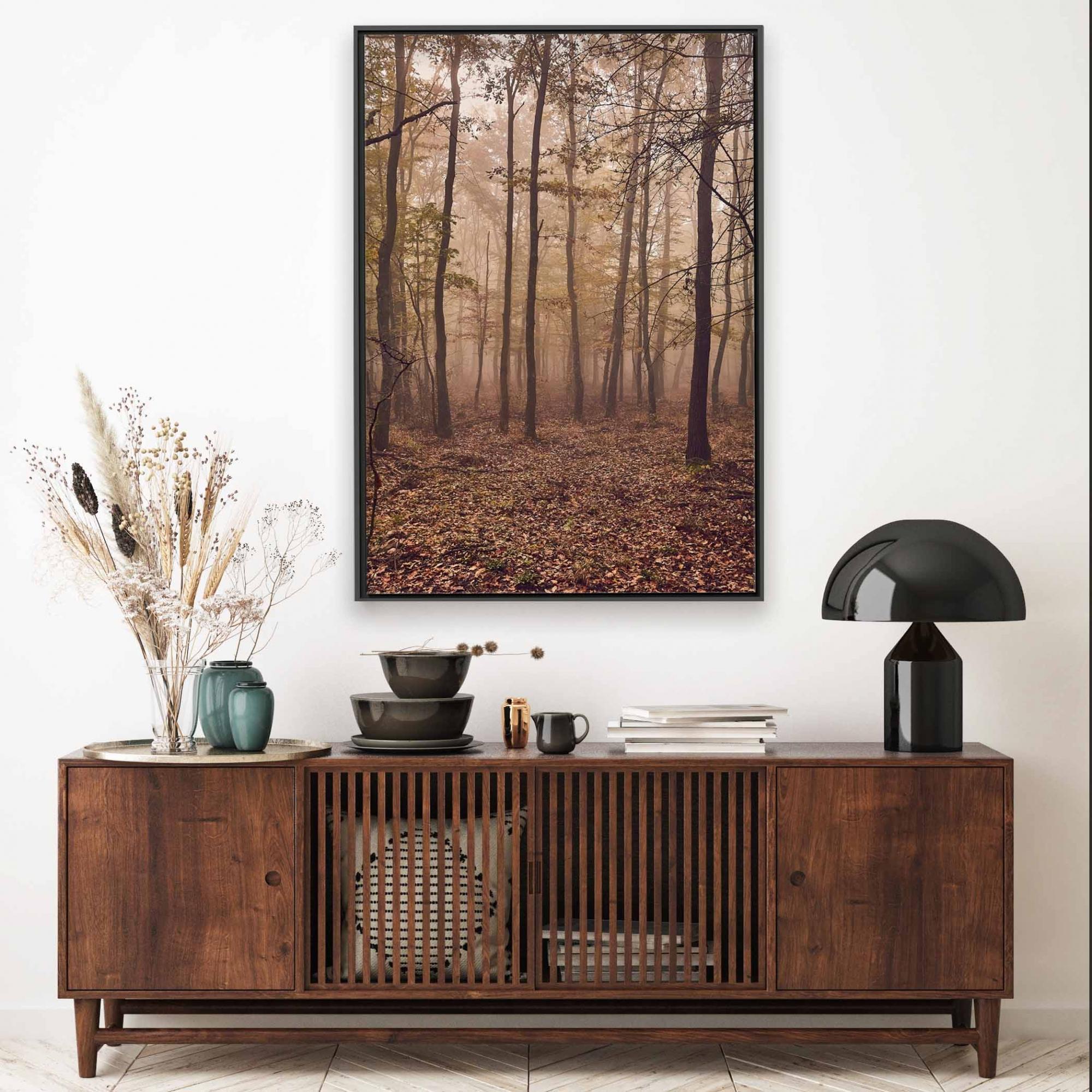 Quadro Decorativo Paisagem de Floresta