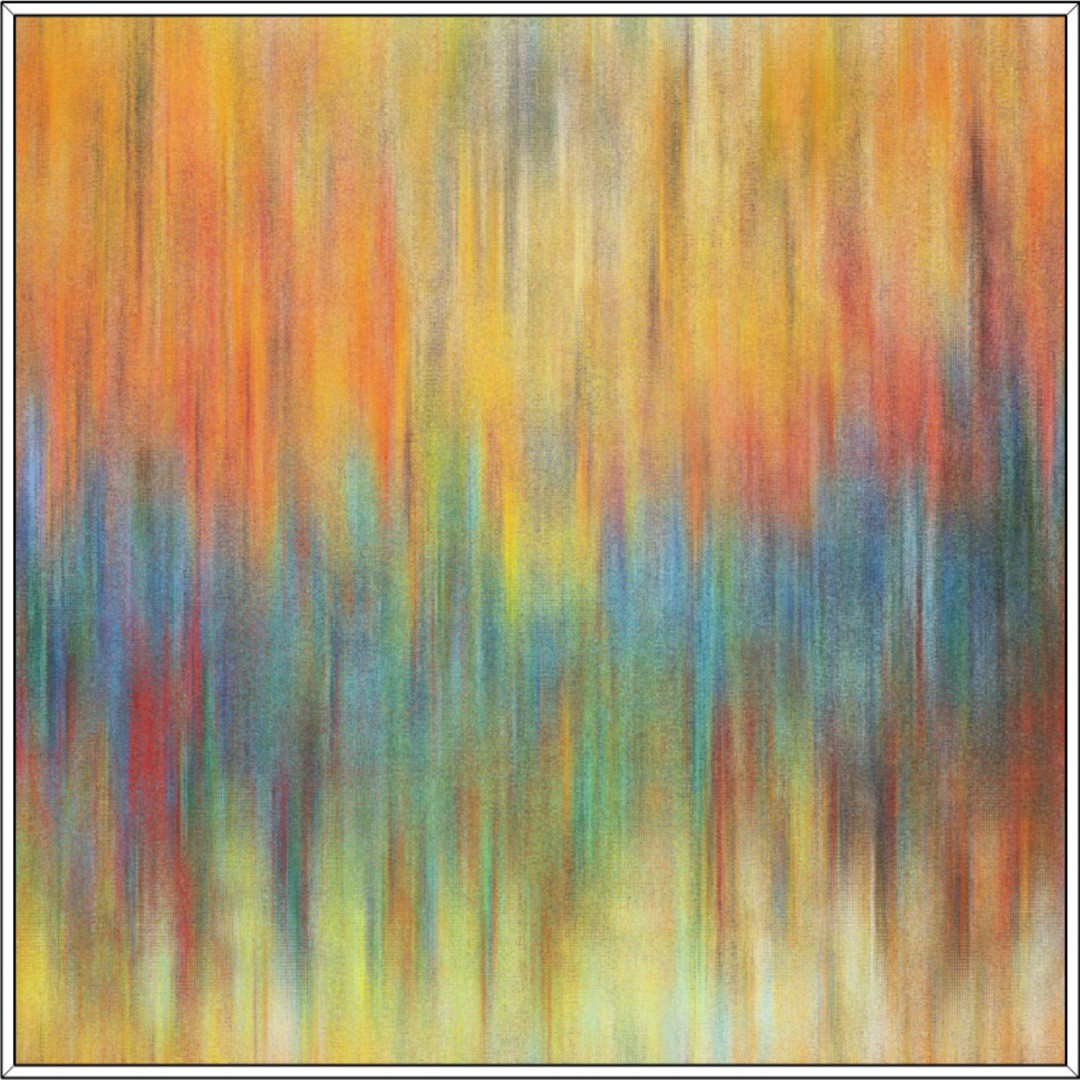 Quadro Decorativo Pintura Colorida Abstrata