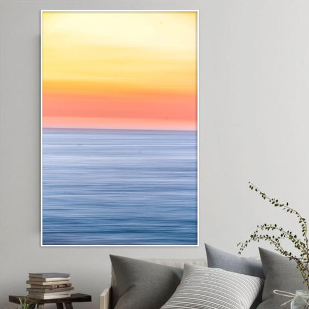 Quadro Decorativo Pôr do Sol Abstrato
