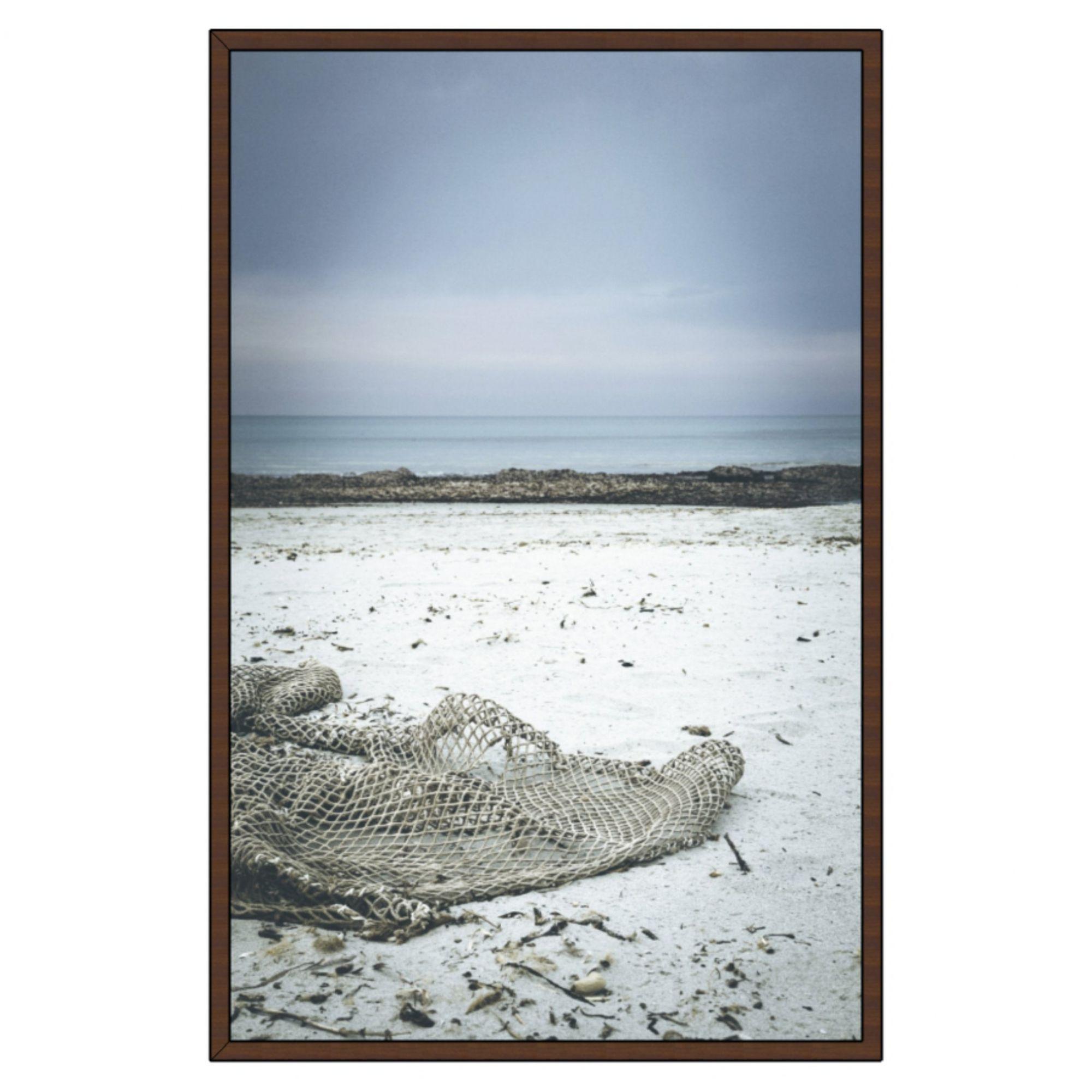 Quadro Decorativo Praia com Rede na Areia