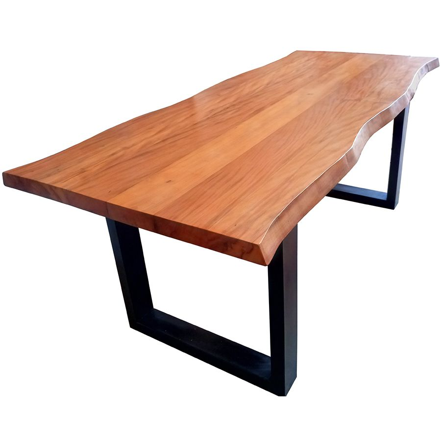 Mesa de prancha de madeira Peroba 2.50 metros  - Marcenaria De Demolição