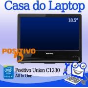 All in One Positivo Union C1230 Intel Celeron 4GB de RAM e 320GB de disco