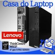 Desktop Lenovo ThinkCentre M93P Intel i7 4a. Geração 4GB de memória RAM e 500GB de disco