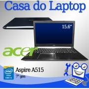Laptop Acer A515-51UX Intel i5 de 7a. Geração 8GB de memória RAM e 1TB de disco