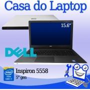 Laptop Dell Inspiron 5558 Intel i7 5a. Geração 8GB de memória RAM e 240G SSD