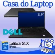 LAPTOP DELL LATITUDE 5400 INTEL I5 8A. GERAÇÃO 16GB DE MEMÓRIA RAM E 256GB DISCO SSD M2 NVME