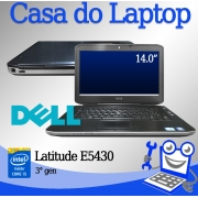 Laptop Dell Latitude E5430 Intel i5 3a. Geração 4GB de memória RAM e 500GB Disco