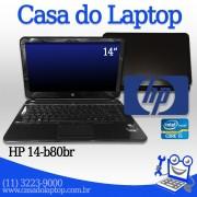 Laptop HP Pavilion 14 b080br i5 de 3a. geração 4 GB memória e 500 GB disco
