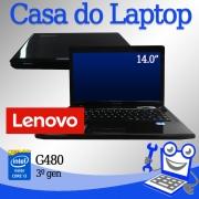 Laptop Lenovo G475 Intel i3 de 3a. Geração 4 GB memória e 500 GB disco rígido
