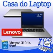 Laptop LENOVO Ideapad 310-14 i3 de 6a. Geração 8GB RAM e 1TB Disco