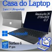 Laptop Microsoft Surface 6 Intel i5 6a Geração 8GB de memória RAM e 240 de SSD