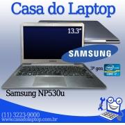 Laptop Samsung NP530U Intel i7 3a. Geração 6GB de memória RAM e 500GB de disco
