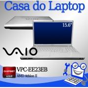 Laptop Sony Vaio VPC-EE23EB AMD Athlon II 4GB de memória RAM e 320GB disco
