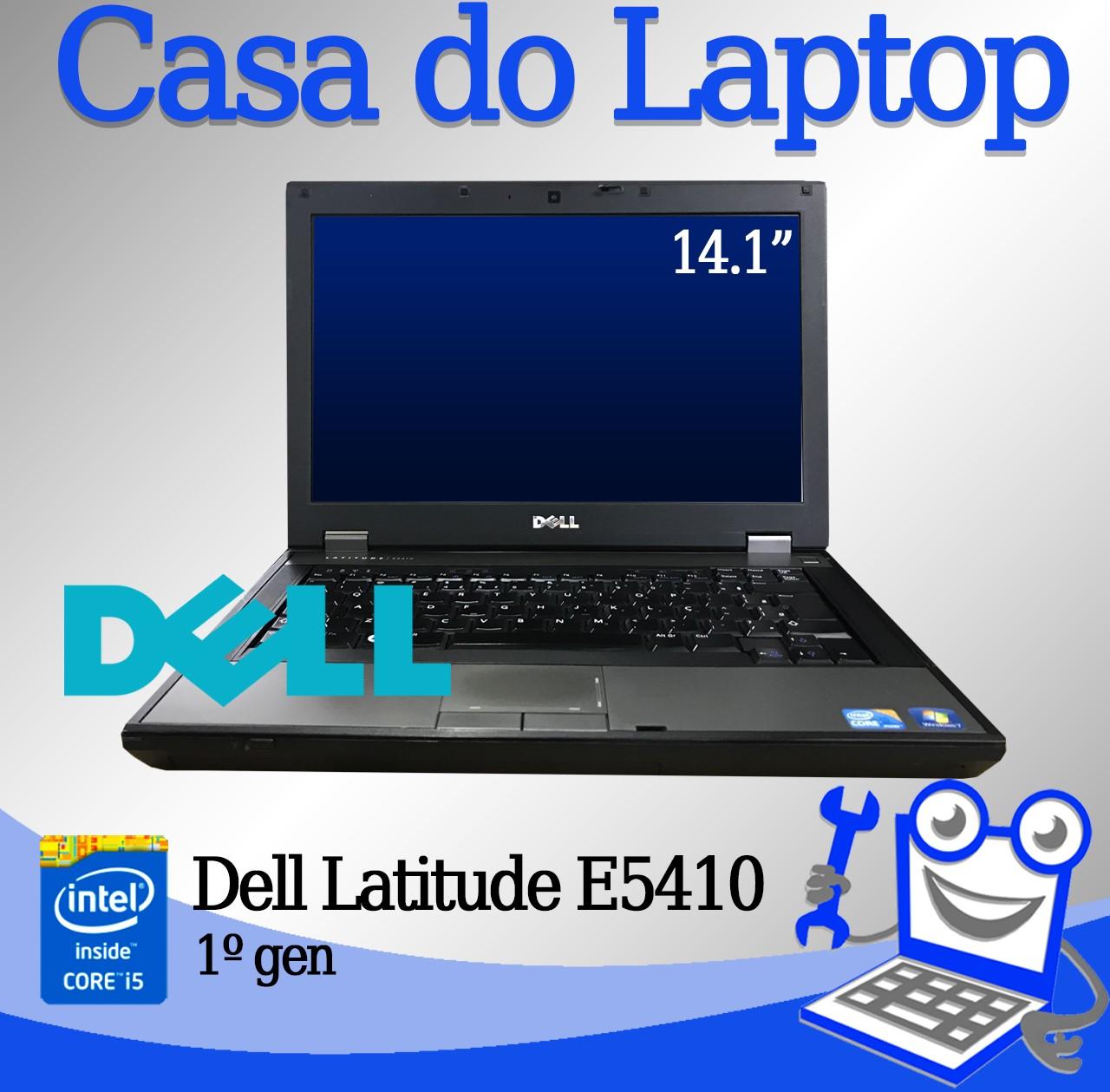 Laptop Dell Latitude E5410 Intel i5 1° Geração 4GB de memória RAM e 320GB Disco