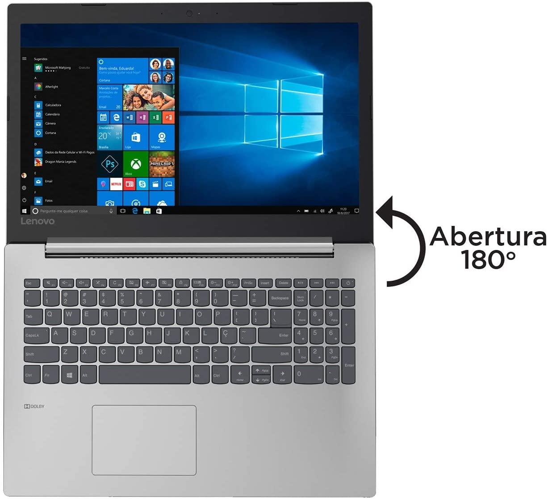 Laptop Lenovo Ideapad 330 i7 de 8a. Geração Placa vídeo de 2 GB 12 GB Memória e 120 GB SSD + 500 GB (seminovo)