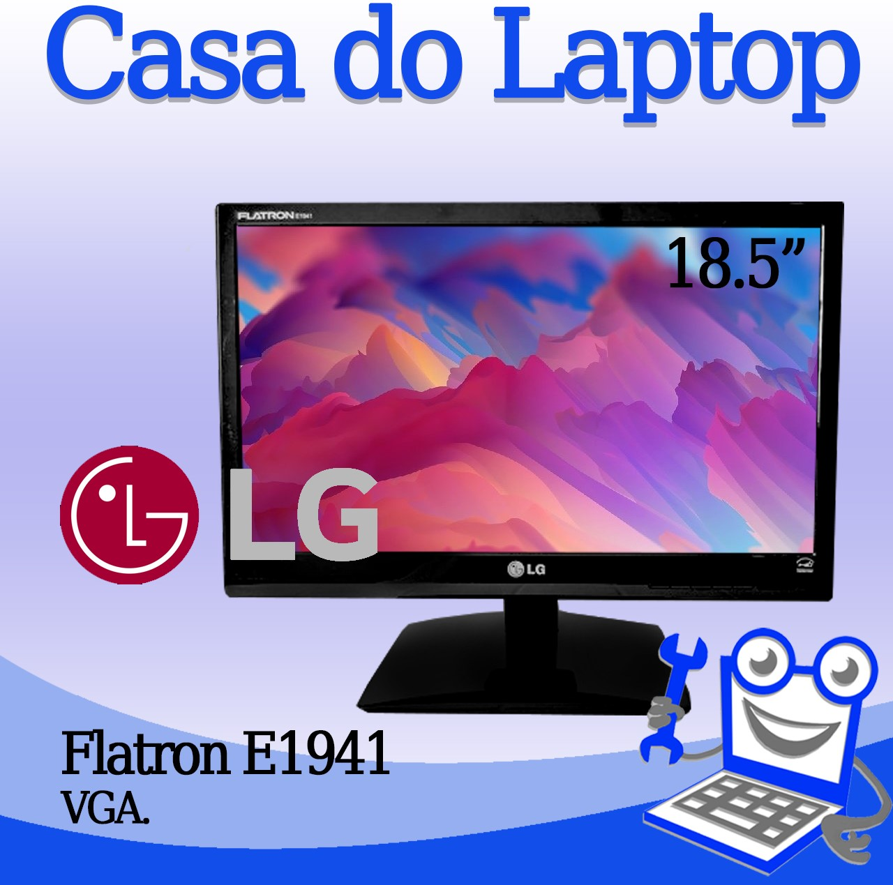 Monitor LG Flatron E1914