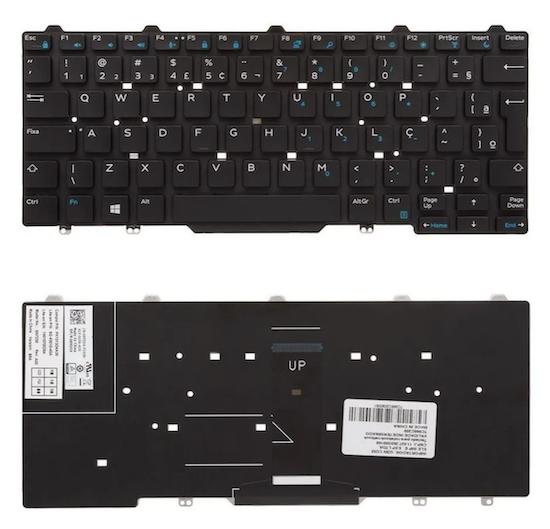Teclado Dell Latitude E5450, E5470, E5480, E7450