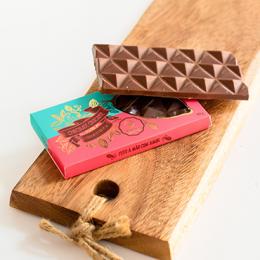 Barra de Chocolate ao Leite de Caramelo com Flor de Sal