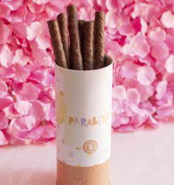 Charutinhos de Chocolate Parabéns Rosa