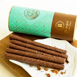 Lata Canudo Charutinho de Chocolate