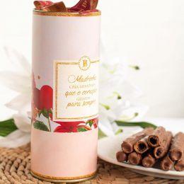Lata Charutinhos de Chocolate  (Madrinha)