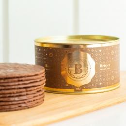 Lata Clássica Biscoitos Tradicionais - Limão Siciliano com Chocolate (350g)