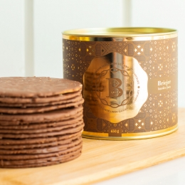 Lata Clássica Biscoitos Tradicionais - Limão Siciliano com Chocolate (650g)