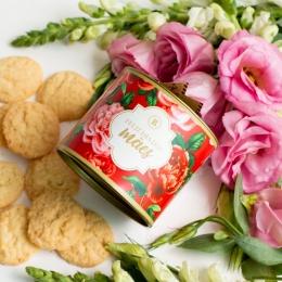 Lata P Biscoitos Suíço - 80g   Coleção Florescer (Mãe)