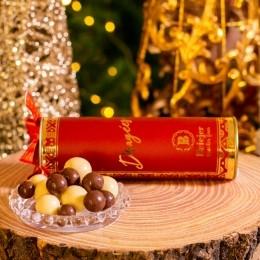 Lata Tubo Dragées de Chocolate