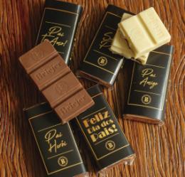 Mini Barra de Chocolate (Dia dos Pais)