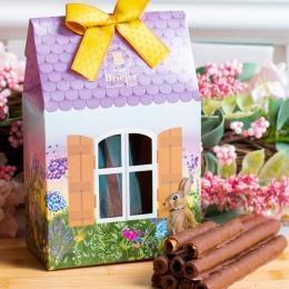 Saq. Charutinhos de Chocolate | Páscoa Renascer