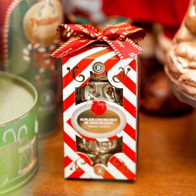 Caixa Estilizada (5 Alfajores) - Christmas Edition