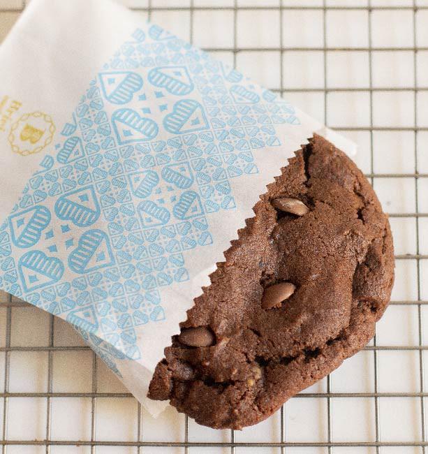 Cookie Briejer - 4 tipos de chocolates com recheio trufado de nutella