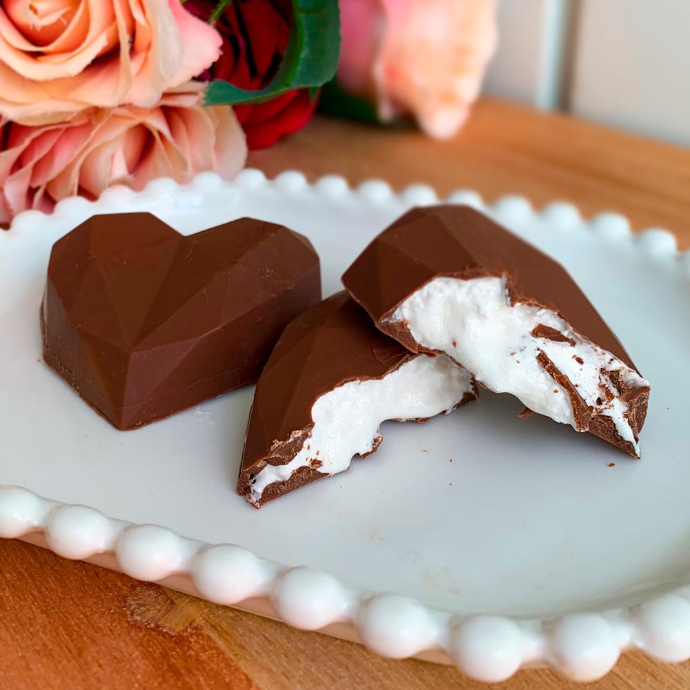 Coração com Marshmallow