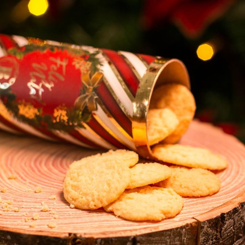Lata Canudo Biscoitos Suíços