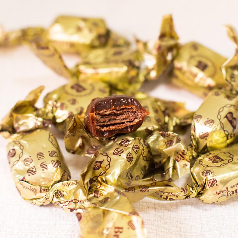 Lata Canudo Bombons de Caramelo - 15 unidades | Coleção Florescer (Sogra)