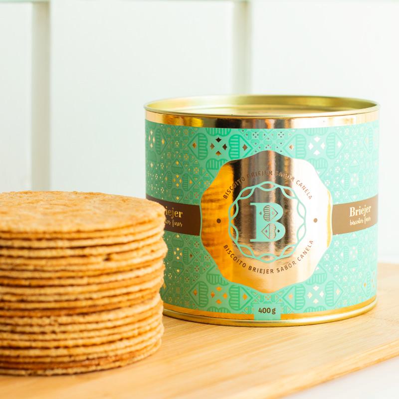 Lata Clássica Biscoitos Tradicionais - Canela (400g)