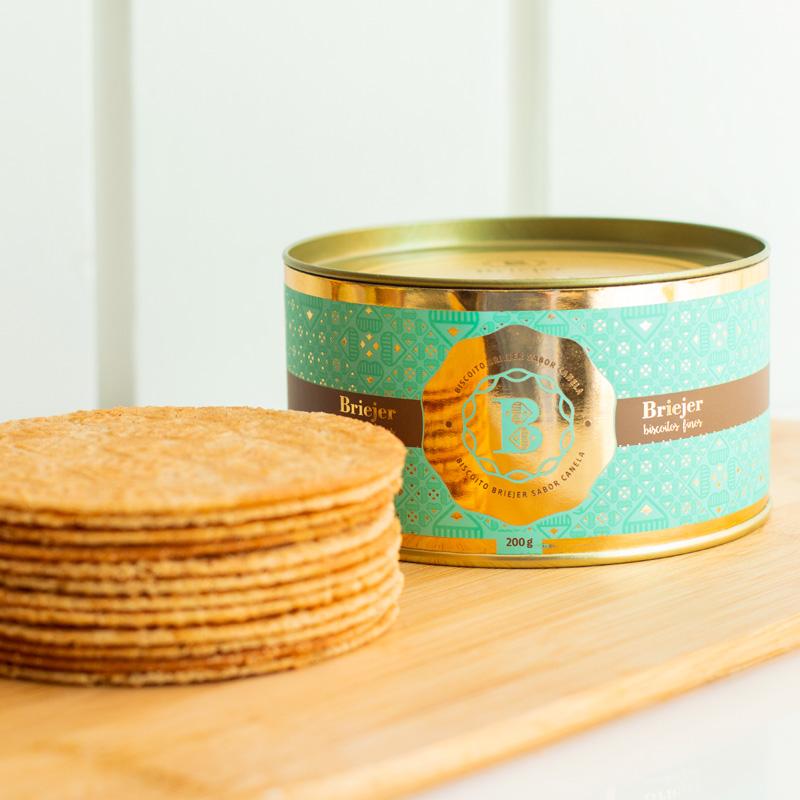 Lata Clássica Biscoitos Tradicionais - Canela (200g)