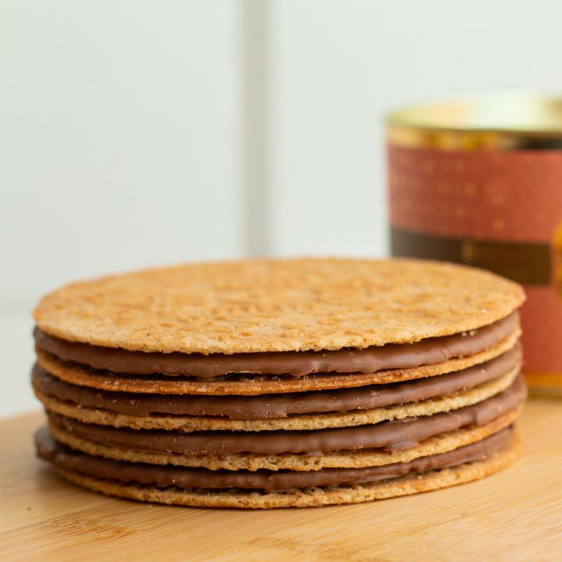 Lata Clássica Biscoitos Tradicionais - Duo Canela e Canela com Chocolate (250g)
