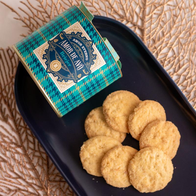 Lata P Biscoitos Amanteigados Suíço (80g) | Avô